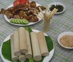 Cơm lam Phú Lâm - đặc sản Tuyên Quang