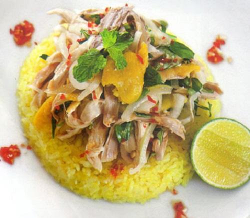 Cơm gà Tam Kỳ - đặc sản Quảng Nam