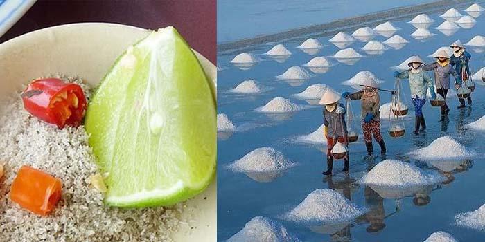 Truy tìm nguồn gốc muối tiêu chanh