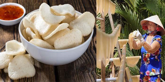 Bánh phồng tôm Việt có từ khi nào?