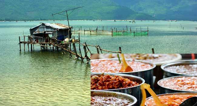 Nghề làm mắm, nổi tiếng ở đầm phá Tam Giang