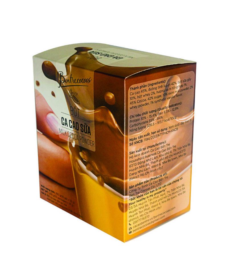Bột cacao sữa gu vừa - Đặc sản Bến Tre