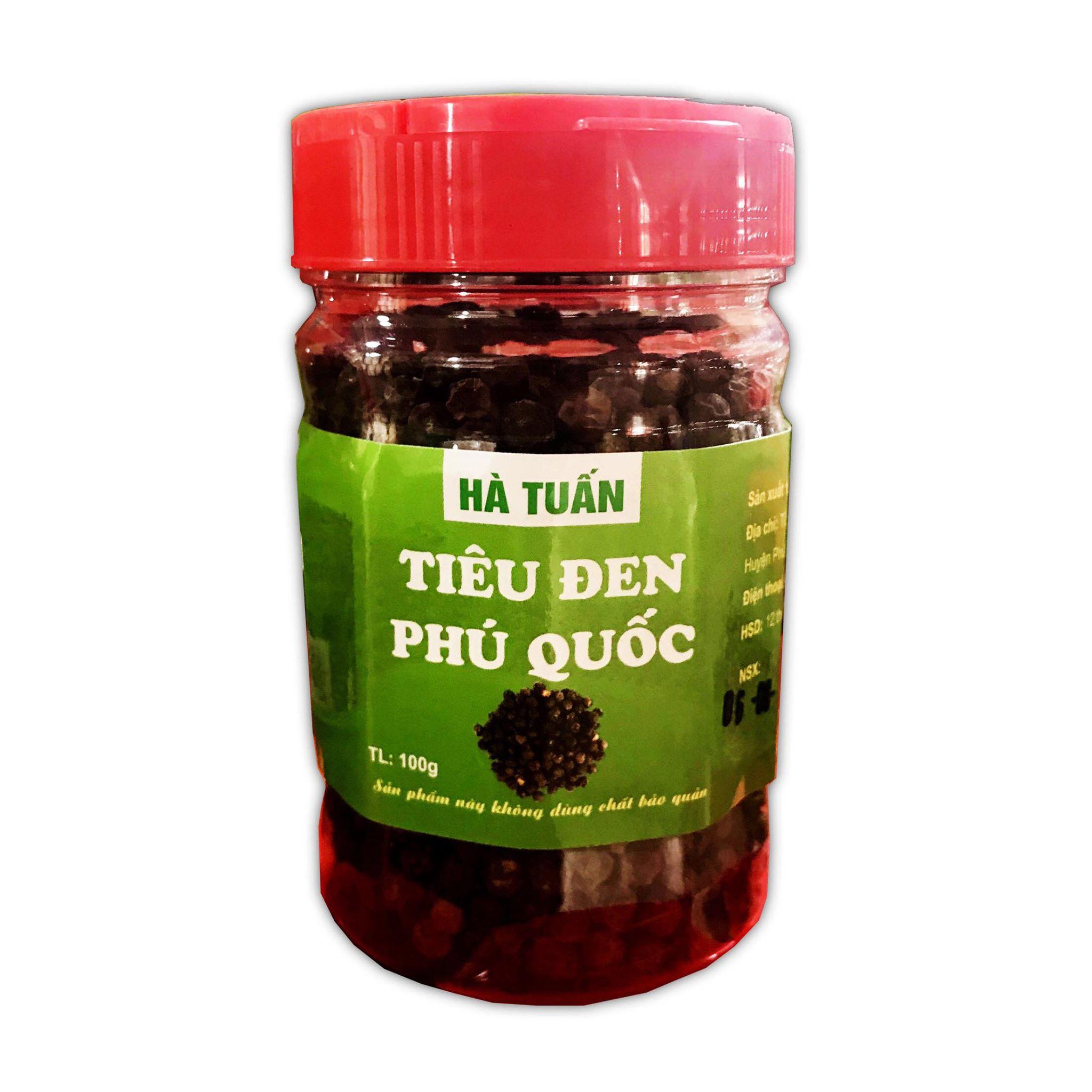 Tiêu đen hạt Hà Tuấn - Đặc sản Phú Quốc
