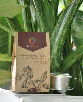 Cà phê bột Beli Bean - Đặc Sản Đaklak