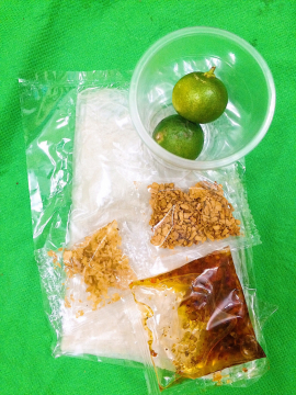 Bánh tráng sate tỏi tắc - Tây Ninh