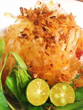 Bánh tráng trộn siêu cay- Đặc sản Tây Ninh