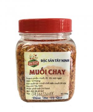 Muối chay - Đặc sản Tây Ninh