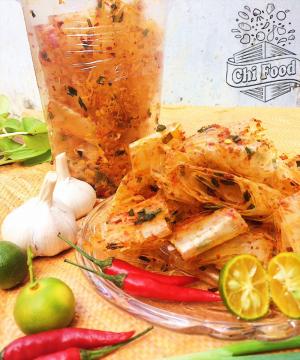 Bánh tráng cuộn tôm vị thập cẩm - Đặc sản Tây Ninh