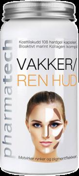 Viên uống chống nhăn, chống lão hoá da (VAKKER/REN HUD) Pharmatech - Nauy