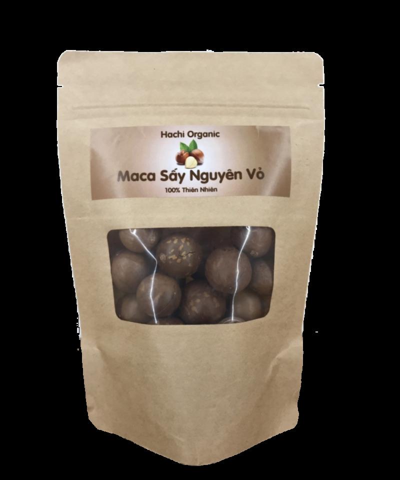 Hạt Maca sấy nguyên vỏ Hachi Organic